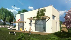 10 tipov na rodinný dom s plochou strechou
