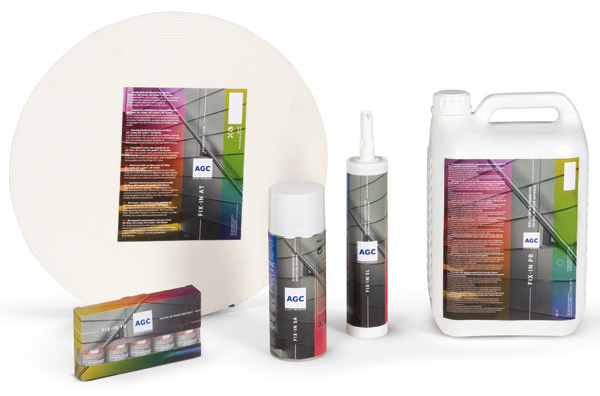 AGC Glass Europe predstavuje profesionálne riešenie lepenia dekoratívnych skiel