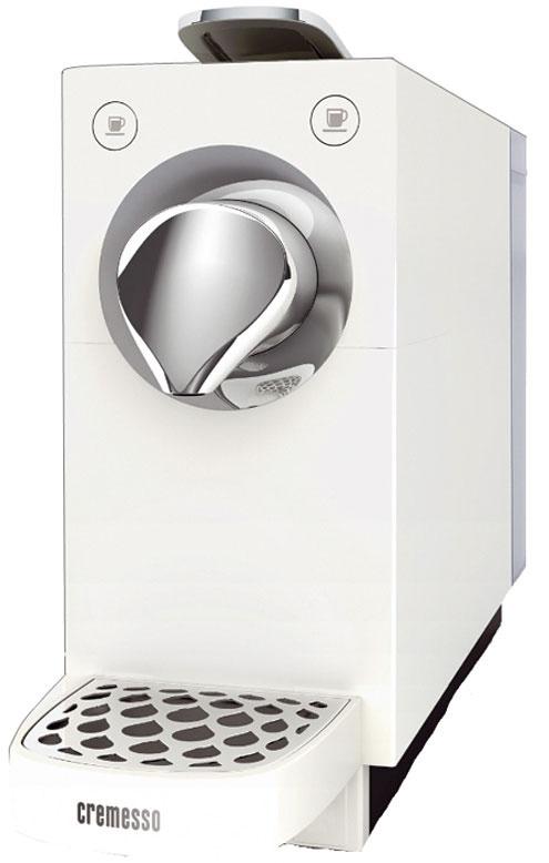 Cremesso Una Automatic Objem zásobníka vody: 800 ml Najvyšší pohár: 13,5 cm Pôdorys: 10,5 × 29 cm Tlak: 19 barov Príprava espressa: 29 s Pohotovostná spotreba: takmer 0 W