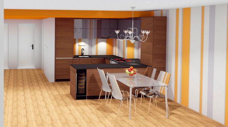 2 riešenia ako prepojiť kuchyňu s obývacou izbou