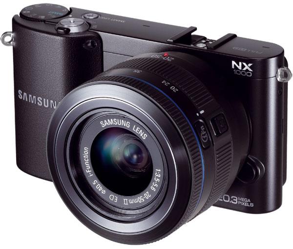1x Fotoaparát Samsung NX1000