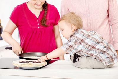 Bezpečnosť detí v kuchyni je na nezaplatenie