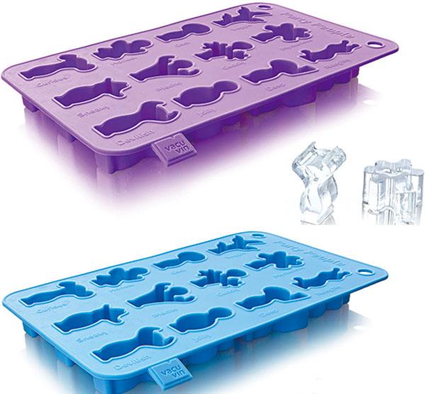 Party, forma na výrobu veselých ľadových panáčikov od firmy IIC, silikón, odolný proti teplotám do 225 °C, môžete využiť aj na pečenie, 7,80 €, vasekuchyne.sk