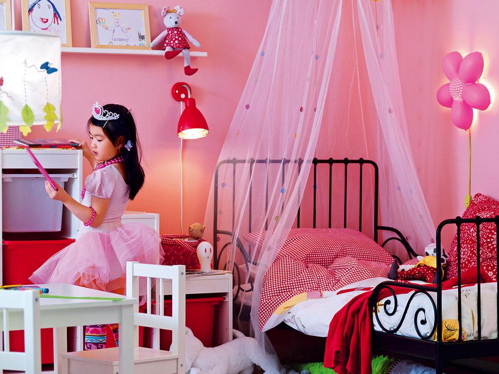 Aké doplnky do detskej izby?