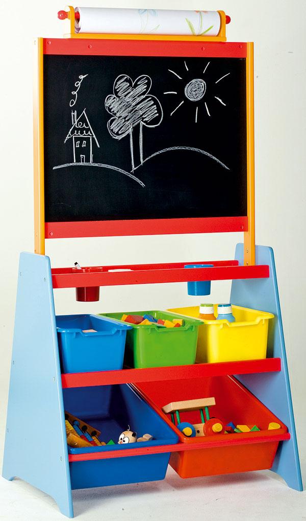 Tabuľa súložným priestorom, plastové poličky akoše, magnetky, papierová utierka, pero, 122 × 63,5 × 48 cm, 49,90 €, kika