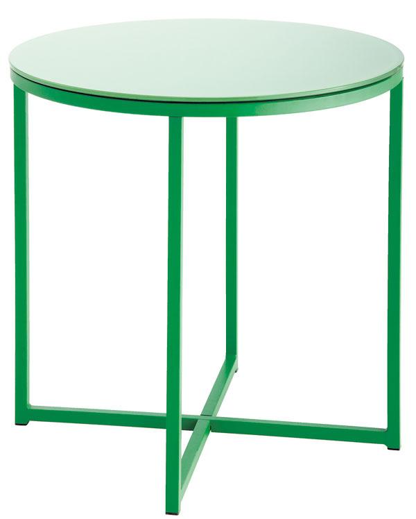Odkladací stolík Benson zkovu atvrdeného skla, 50 × 50cm, 19,99 €, Jysk