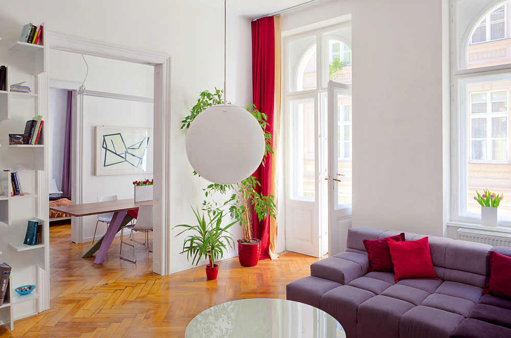Bratislavský byt v dome z 19. storočia zrekonštruovali na nepoznanie