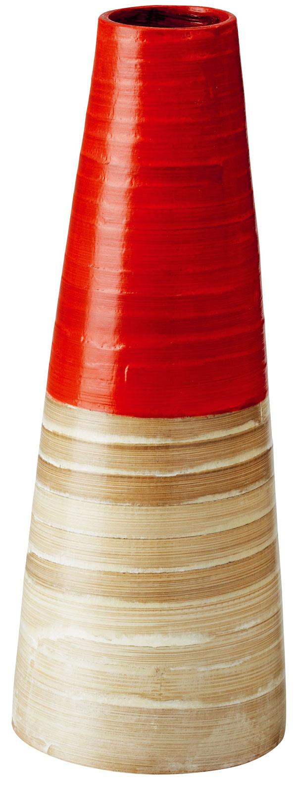 Dekoračná váza Vinäger, bambus, lak snitrocelulózou, 32 cm, 9,99 €, IKEA