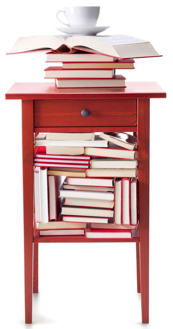 Nočný stolík Hemnes, masívna borovica, 70 × 46 × 35 cm, 49,99 €, IKEA