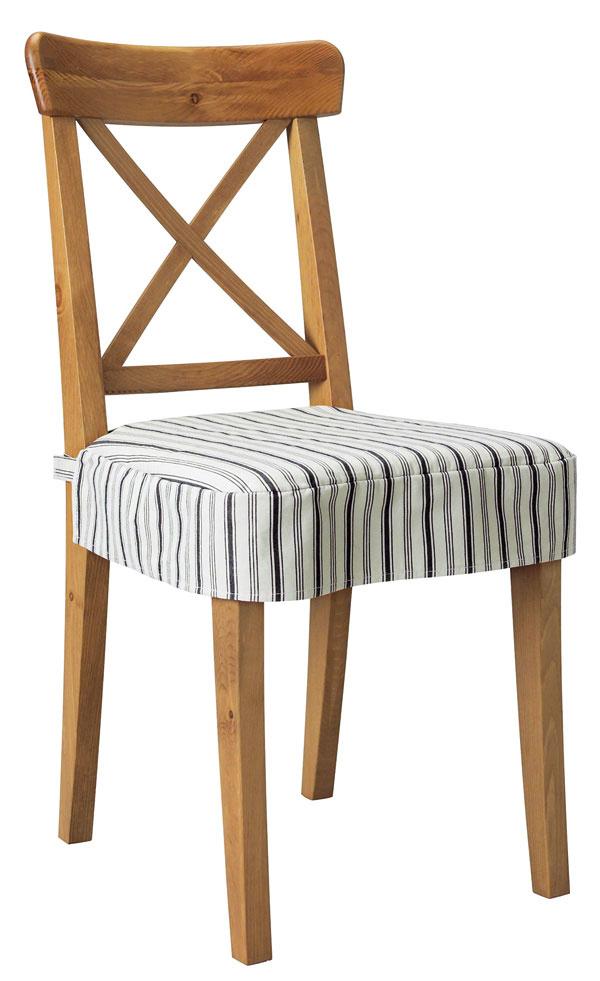 Stolička Ingolf, masívny buk,  95 × 50 × 41 cm, 49,90 €, IKEA