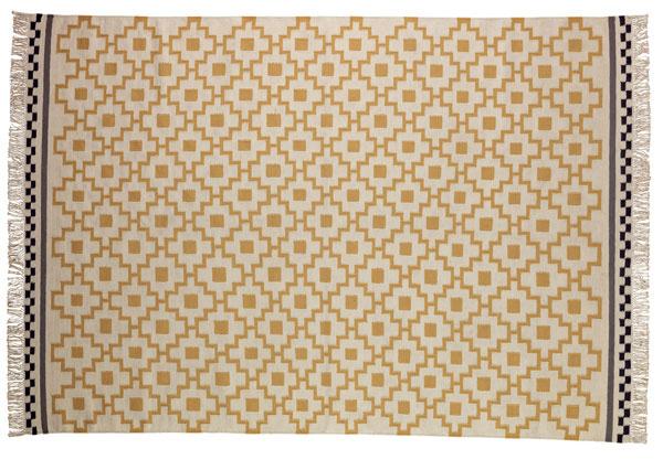 Koberec Alvine Ruta, strihaná vlna, bavlna, 240 × 170 cm, 149 €, IKEA