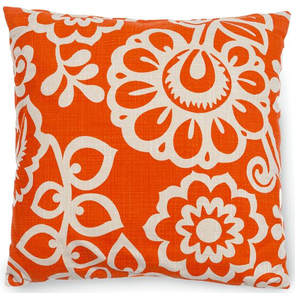 Vankúš od F&F, kvetinový vzor, bavlna, 45 × 45 cm, 9,99 €, Tesco