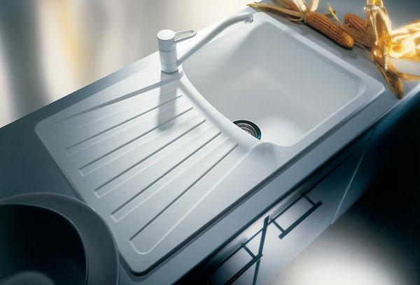 kvalitný a cenovo výhodný, silgranitový drez BLANCONOVA 45 S. Je široký a hlboký zároveň. Má vhodne tvarovanú odkvapkávaciu plochu, čo oceníte najmä pri jeho čistení.