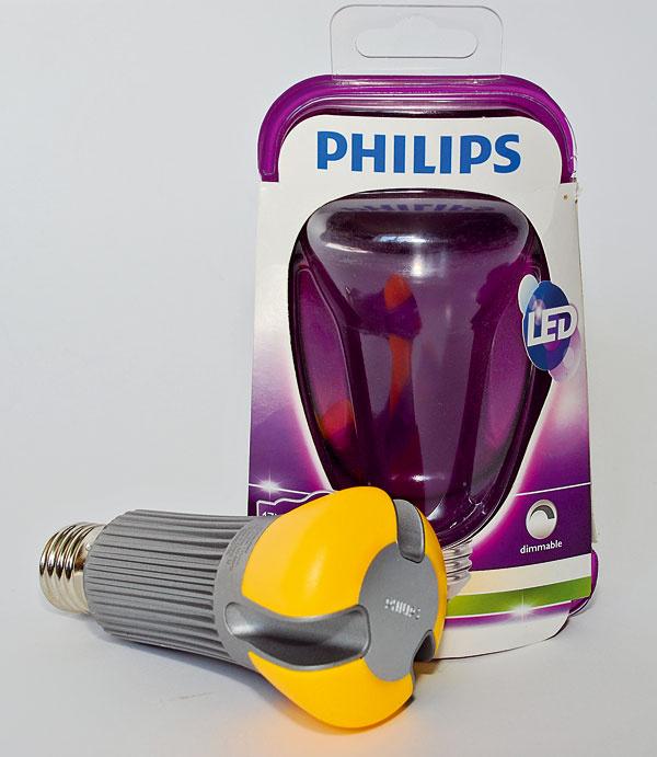 Philips LED 9290002155 (75 W)   príkon:17 W trieda: A svietivosť: 1 055 lm stmievateľná životnosť: 25 000 h/50 000 cyklov cena: 49,90 €