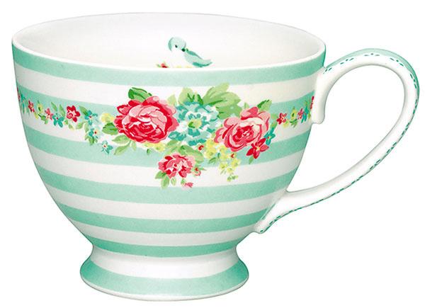 Šálka CandyMint od GreenGate, porcelán, objem 35 ml, 19,13 €, bellarose.sk