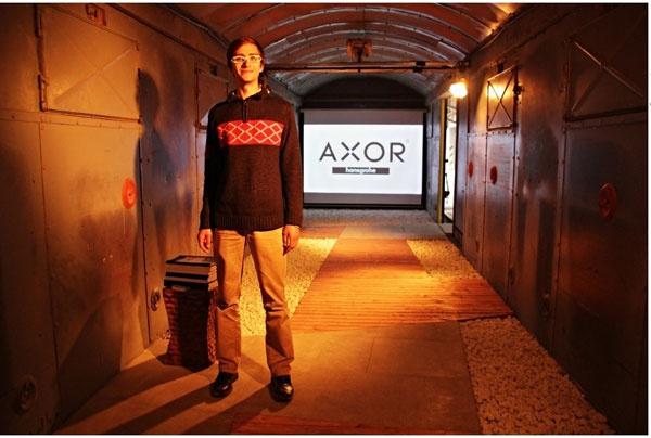 Víťazi Axor H2O story budú pri výrobe noviniek značky Axor