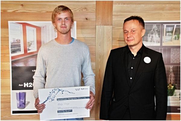 Matej Varga, víťaz on-line hlasovania širokej verejnosti Axor H2O story 2013