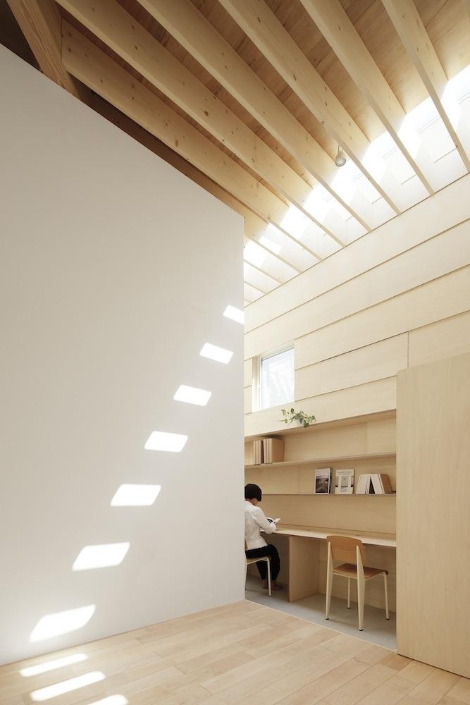 Do slnečného študijného kútika sa možno dostať i bez rebríka.