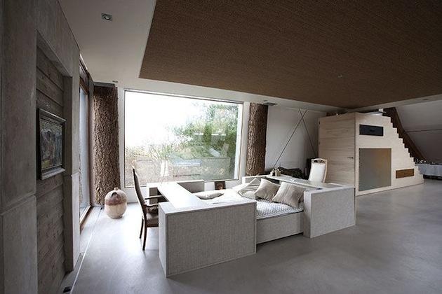 Dom snov v tvare pieskovej duny