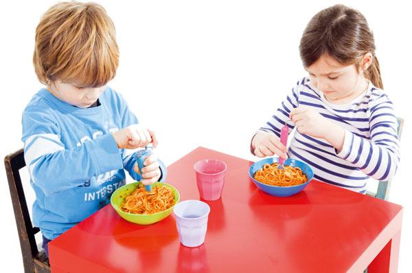 Urobte deťom zo stolovania zábavu