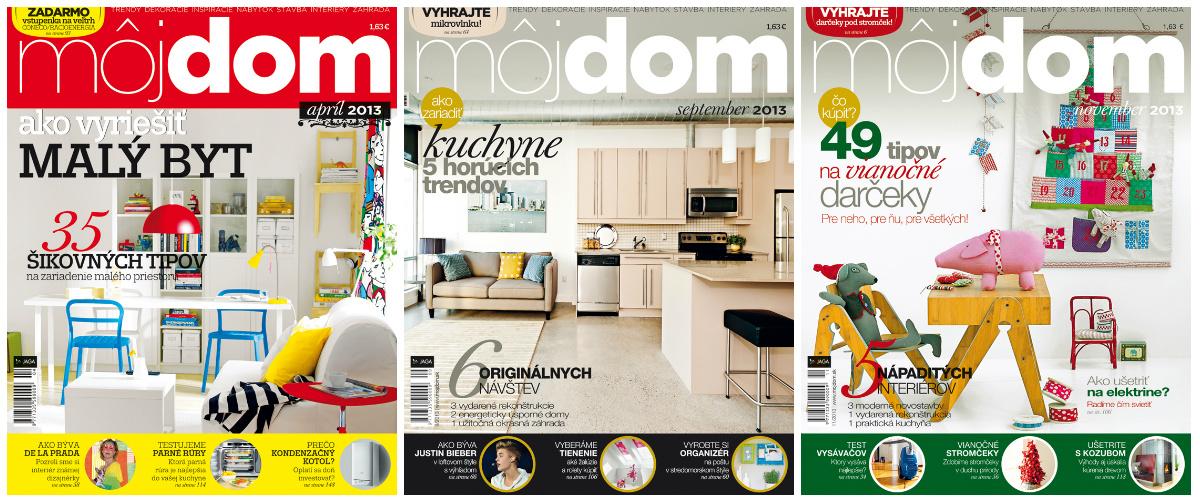 12 časopisov Môj dom za 50% zľavu