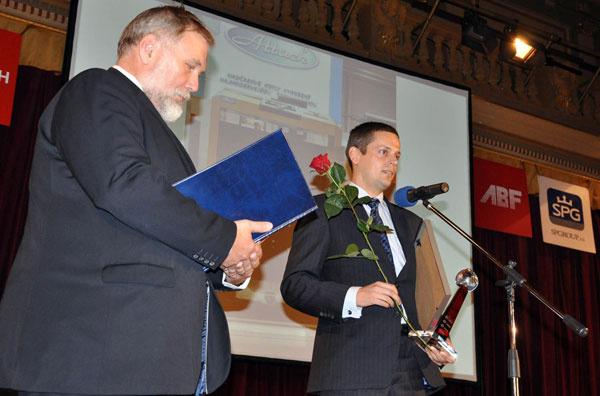Ocenenie GRAND PRIX na FOR ARCH 2013 Praha pre ATTACK