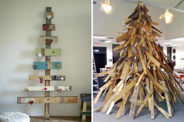 Ak nie ste zanieteným vyznávačom tradícií, vyskúšajte tento rok bláznivý vianočný stromček z paliet.
