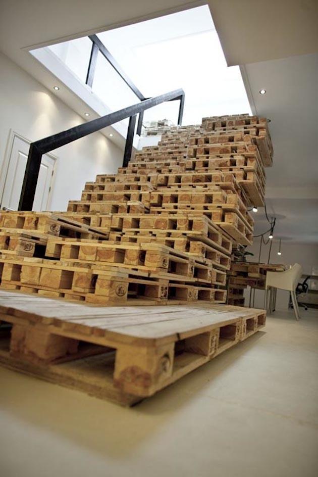 Ekonomické riešenie schodov. Asi nie pre každého :)