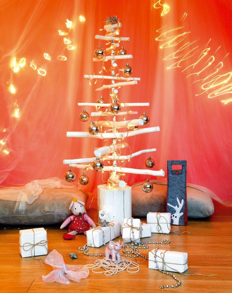 Vyrobte si netradičný vianočný stromček