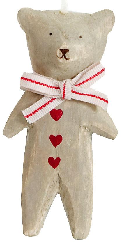 Drevený medvedík na zavesenie, 5,32 €, www.bellarose.sk