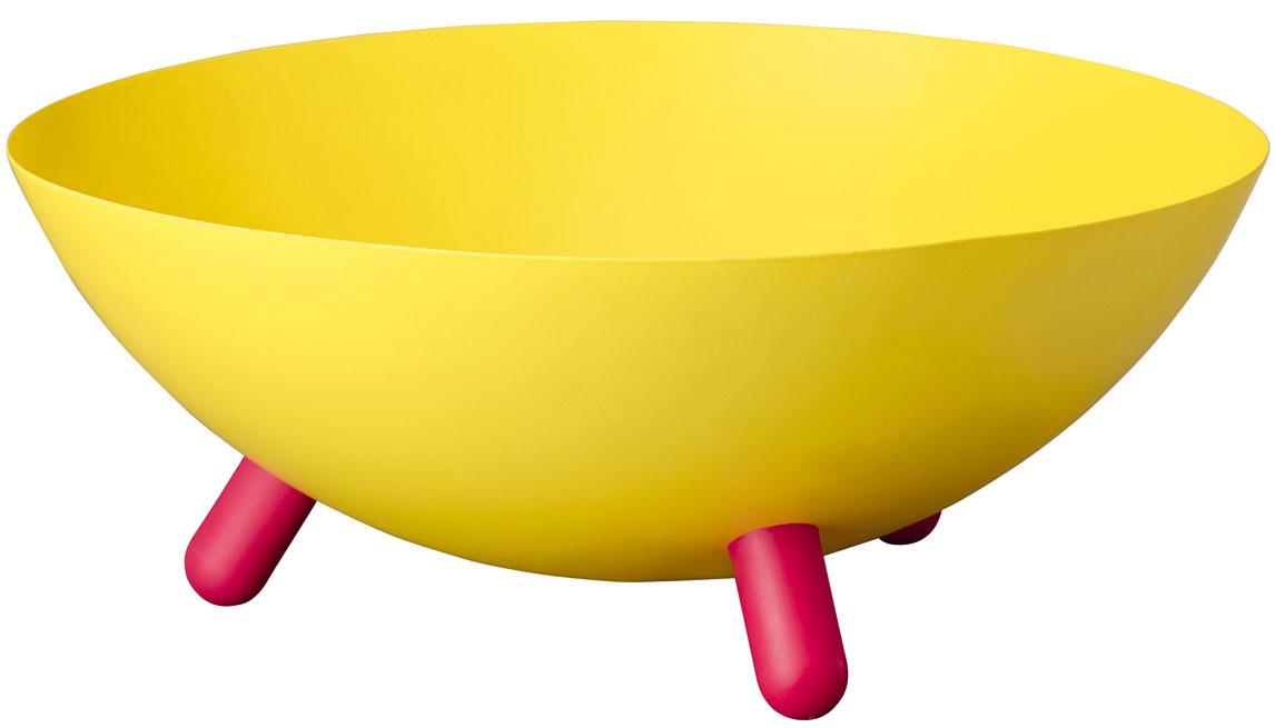 Miska Hyfsad, oceľ, plast, 28 × 11 cm, 9,99 €, IKEA