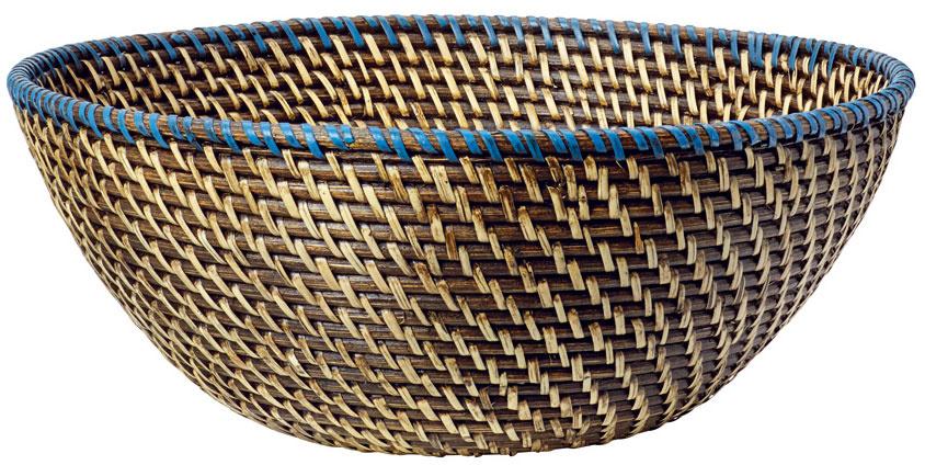 Košík Finkornig, lúpaný rotang, 36 × 14 cm, 14,99 €, IKEA