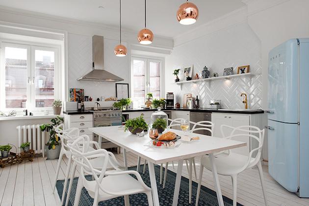 Biele interiérové kúzlo na škandinávsky spôsob