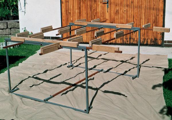Stavebnicový manipulačný stôl