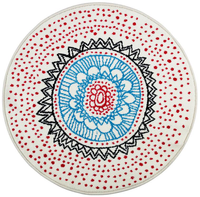 Virring, dizajn Anna Salander, polypropylén, juta, priemer 80 cm, 9,99 €, IKEA