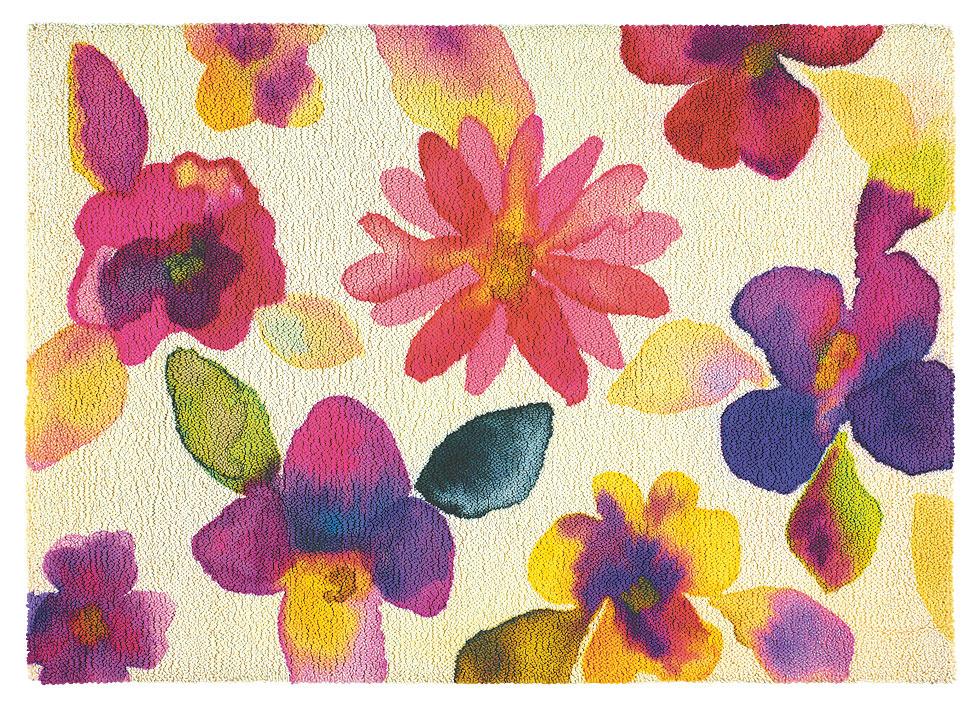 Icon Blossom, 100 % vlna, všívaný, 170 × 240 cm, 1 271 €, Koratex