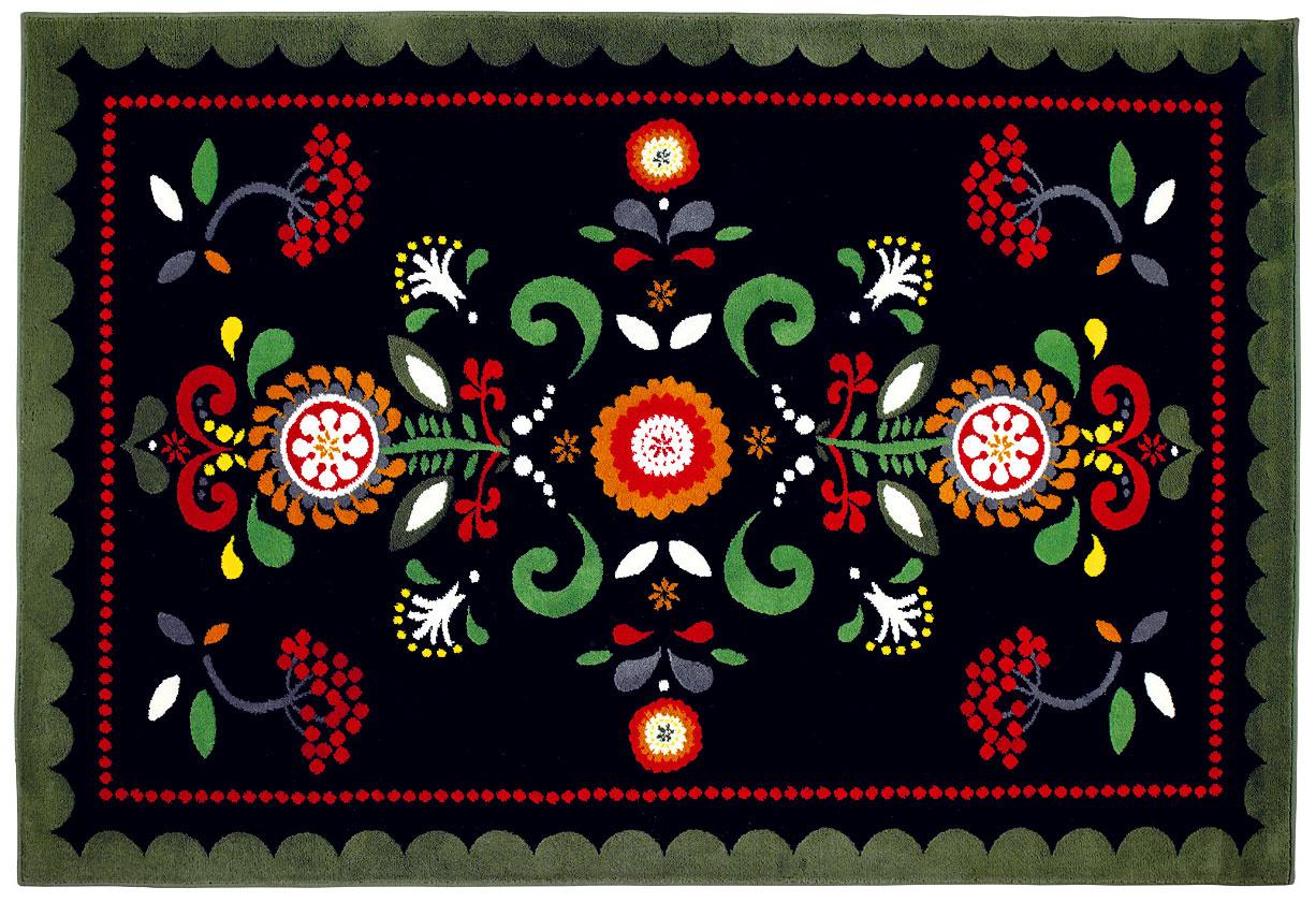 Åkerkulla, dizajn Eva Lundgreen, polypropylén, 195 × 133 cm, 39,99 €, IKEA