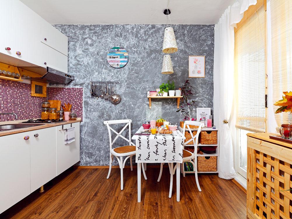 Premena starej kuchyne s rozpočtom 1 300 €