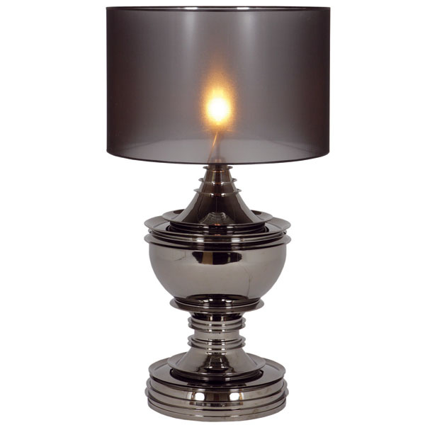 Silom, čierny nikel, 120 × 70 × 50 cm, 1 580 €, Elmina, LightPark