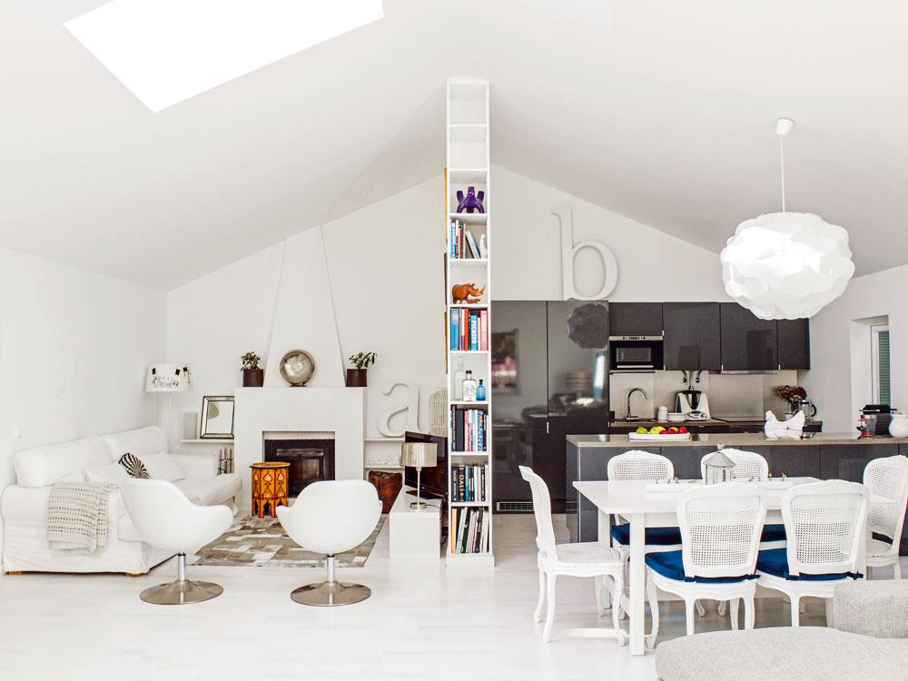 Pôvabný rodinný dom s veľkorysým priestorom je zmesou štýlov