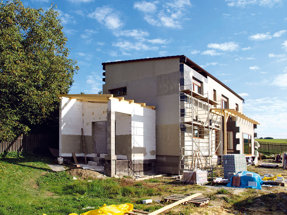Svojpomocná výstavba pasívneho domu krok za krokom
