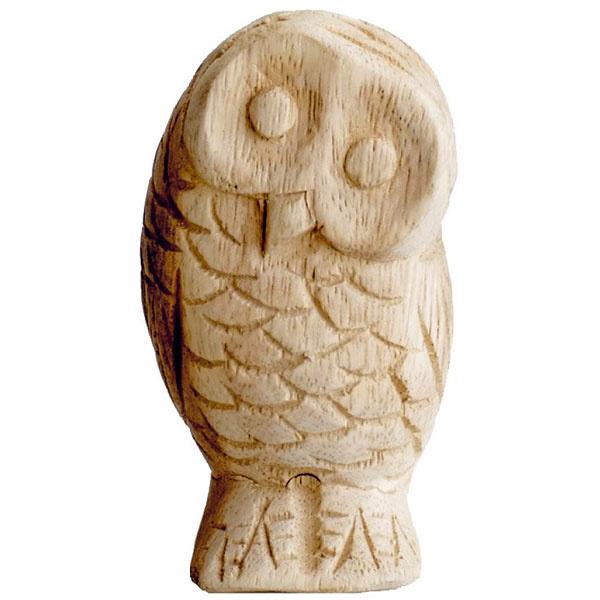 Soška Sova, drevo, ručne vyrezávaná, výška 12 cm, 29,13 €, bellarose.sk