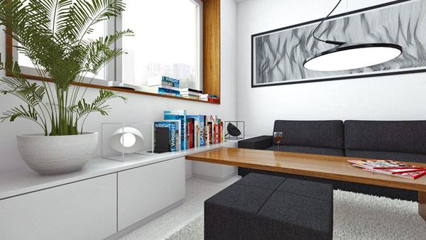 Ako by sa dal zariadiť čerstvo zakúpený jednoizbový byt