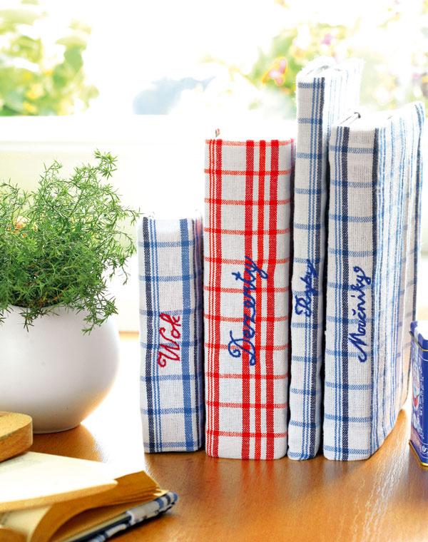 Vyrábame originálne obaly kuchárským knihám