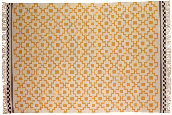Ručne hladko tkaný koberec Alvine Ruta, 170 × 240 cm, 149 €, Ikea
