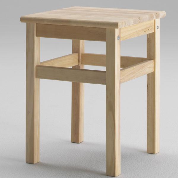 Stolček Oddvar, masívna borovica, 33 × 33 × 45 cm, 7,99 €, IKEA