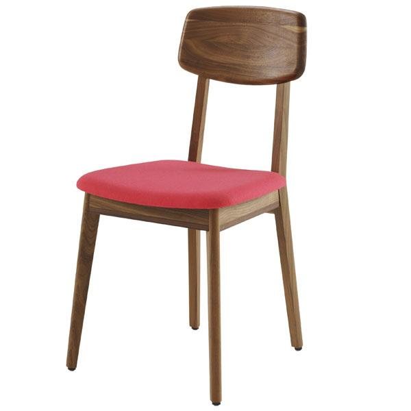 Stolička Marcella, orech, čalúnené sedadlo, dizajn Nathan Yong, 538 €, Ligne Roset