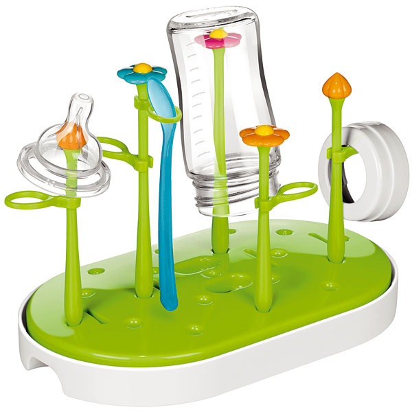 Súprava na sušenie dojčenských fliaš, cumlíkov a ďalšieho riadu Bambini, odolný farebný plast, 25 × 15 × 21 cm, 12,70 €, Tescoma