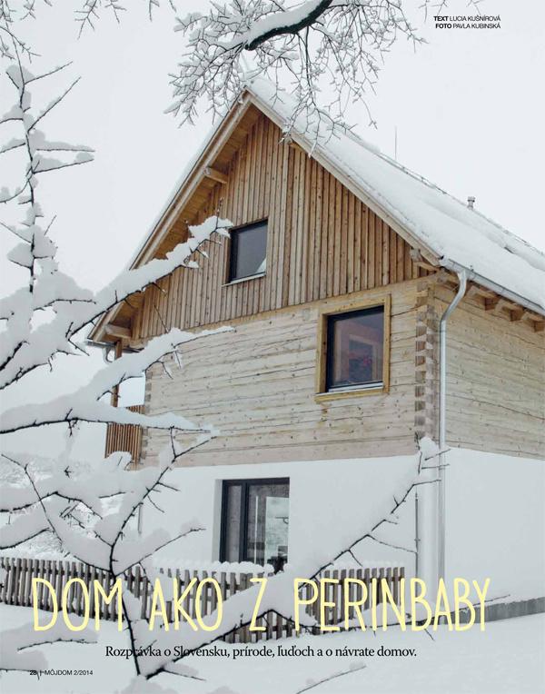 Februárový Môj dom 2/2014 už v predaji spolu s darčekom zadarmo