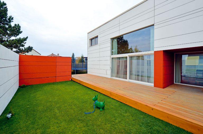 Nízkoenergetický rodinný dom ako drevená skladačka